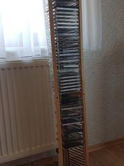 CD-Sammlung mit Ständer