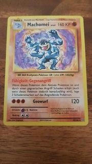 Pokemon Karte Machomei 59 108