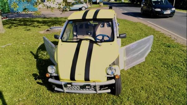 Microcar Ligier be Up Two