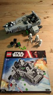 FIRST ORDER SNOWPATROL LEGO STAR