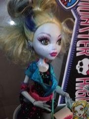 Monster High Puppe Lagoona Blue