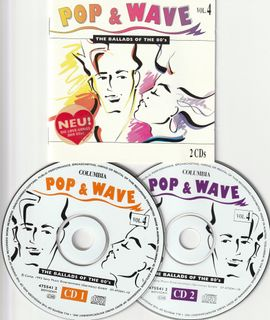 80`s 2CD - V.A. - Pop & Wave Vol. 4 ( The Ballads Of The 80`s ); Club Edition
