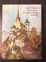 Familiennamenbuch von Hubert Allgäuer Familienname