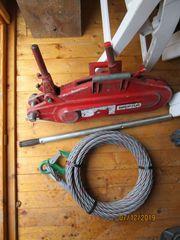 3 2t Greifzug mit Seil