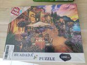 HUADADA Puzzle 1000 Teile Italien