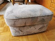 Sofa 3 Teilig mit Hocker
