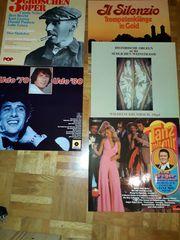 Retro Schallplatten Album 15 Schallplatten