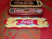 Coca-Cola Kugelschreiber Pen Box zus 12