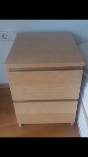 Ikea Malm Nachttisch Kommode Schrank