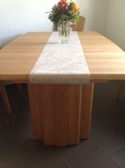 Essgarnitur - Tisch mit 6 Stühlen