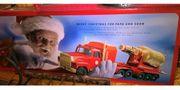 Großer Weihnachtstruck - Truck mit echter