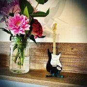 Vintage Miniatur Gitarre by Fender