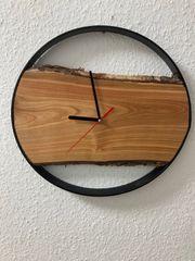 Holz Wanduhr