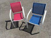 2 Kinder-Gartenstühle zu verkaufen