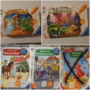 Tiptoi Bücher und Spiele