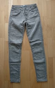 Jeanshose Gr 34 graumeliert