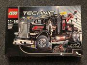 Lego Technik Großer schwarzer Abschlepptruck