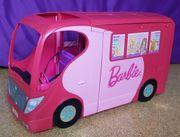 BARBIE Wohnmobile mit 5 Barbies
