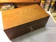 Holztruhe Antik Sammlungen Seltenes Günstig Kaufen Quokade
