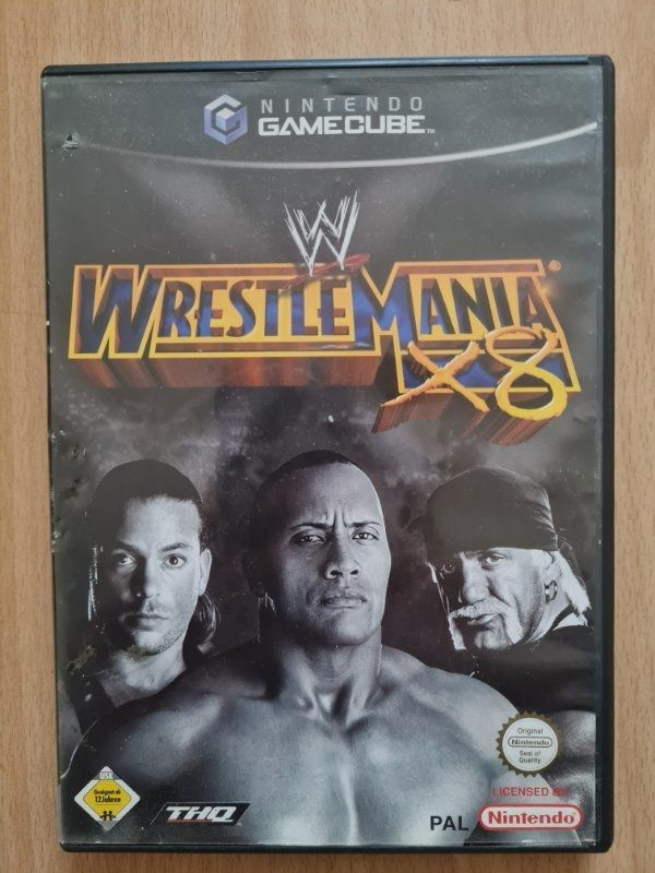 GameCube Spiel WWE Wrestlemania X8