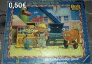 2 Rahmenpuzzel Zoo Bob der