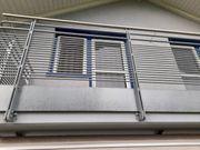 Balkon Geländer verzinkt