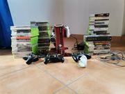 Xbox 360 mit 70 Spielen
