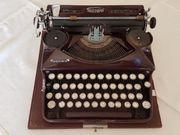 Triumph Schreibmaschine Norm 6 Antik
