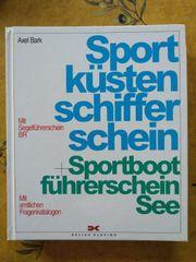 Buch Sportküstenschifferschein Sportbootführerschein See