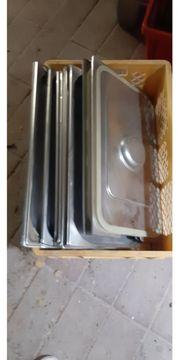 GN-Behälter und Deckel