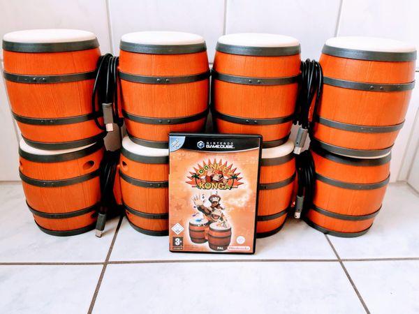 Gamecube Donkey Konga inkl. 4 Bongo Trommeln