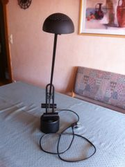 Schreibtischlampe schwarz schwenkbar - WIE NEU