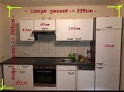 moderne gepflegte Küchenzeile inkl E-Geräte