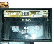 neue TDK Hi8 ME 90
