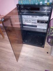 3 Stereo Anlagen mit Glas