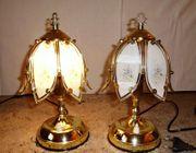 2x Schöne kleine Lampe Nachttischlampe