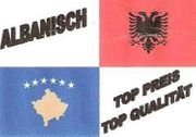 ALBANISCH-KROATISCH-SERBISCH-MAZEDONISCH-BOSNISCH - günstige Beglaubigte Übersetzung