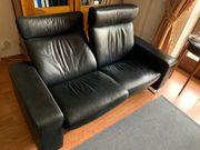 Stressless Leder Sofa Couch Liege