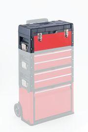 Werkzeugkasten Trolley Top-Box rot NEU