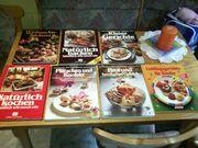 Einige Koch-und Backbücher Top Zustand