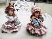 2 Künstler Puppen Miniaturen Handarbeit