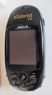 Navigationsgerät Magellan Explorist 600 - Rarität