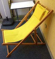 Schicker Liegestuhl Gartenliege Strandstuhl