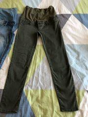 3 umstandshosen jeans