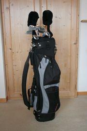 Golfbag mit Schläger