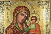 Große Ikone Madonna mit Kind