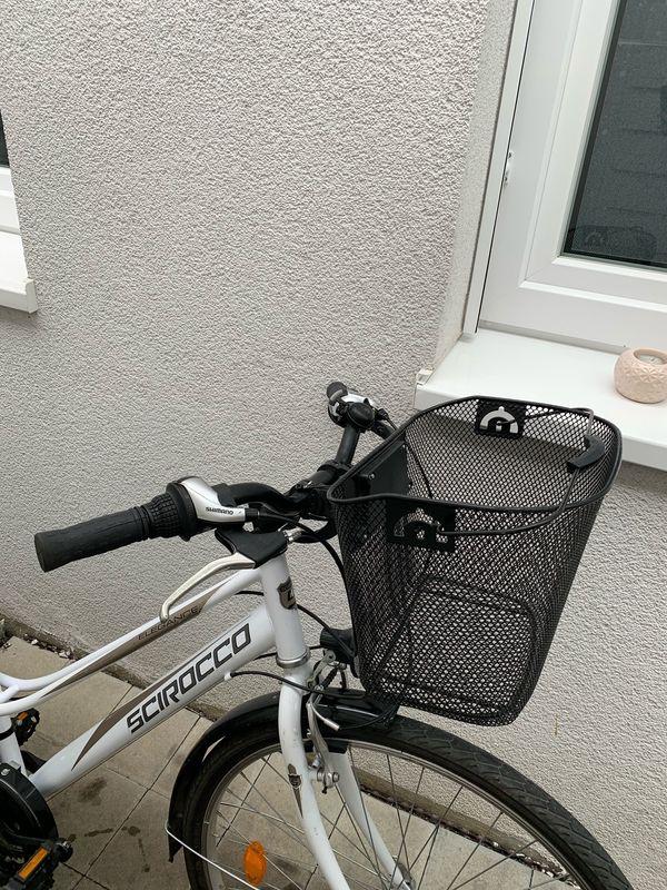 Fahrradkorb Fahrrad Korb Lenkerkorb für vorne Lenkrad Lenker