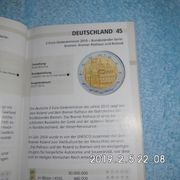 Deutschland 2 Euro Bremen Stempelglanz