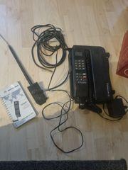 altes auto telefon