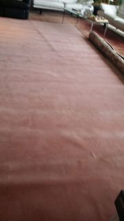 Teppich Auslegeware altrosa